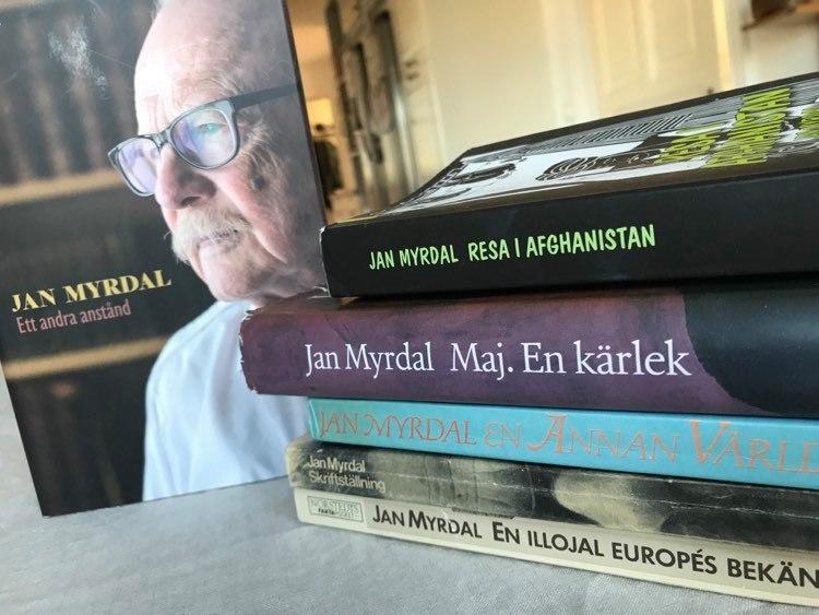 Jan Myrdal ville aldrig bli fin